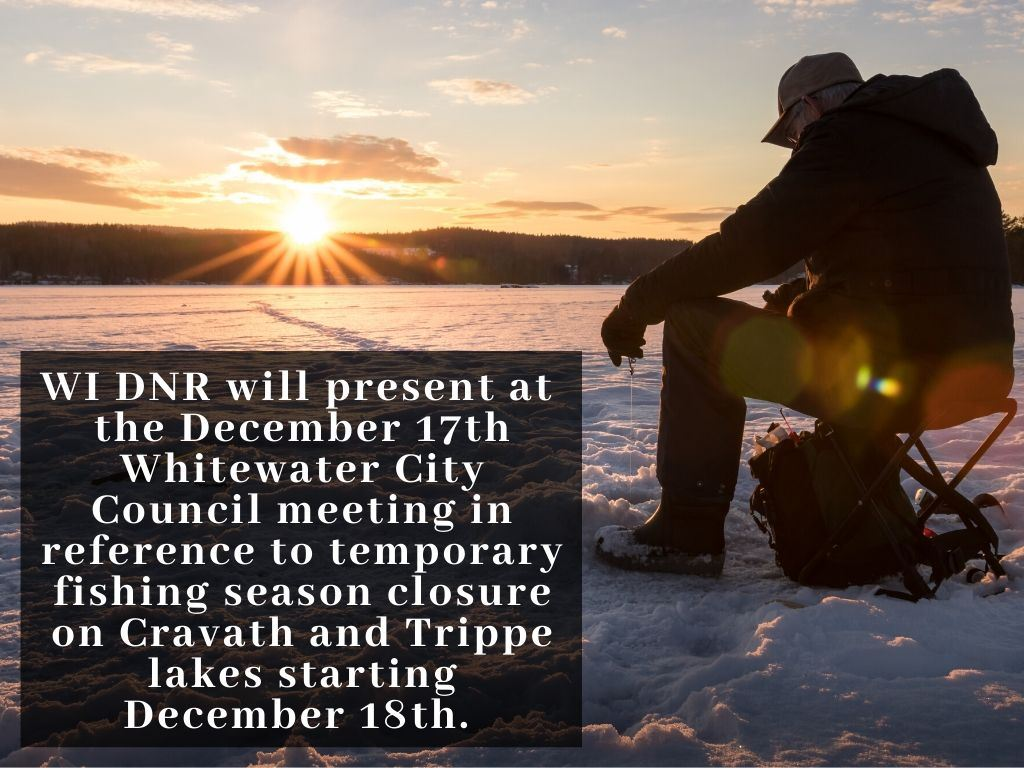 Temporary Fishing Closed 12-18-19