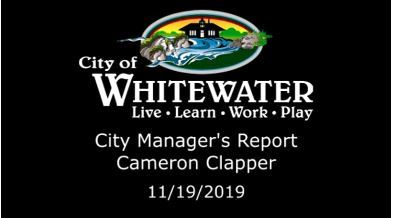 City Managers Report 11.19.2019