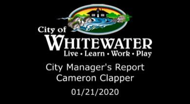 City Mgr Rpt 1.21.20