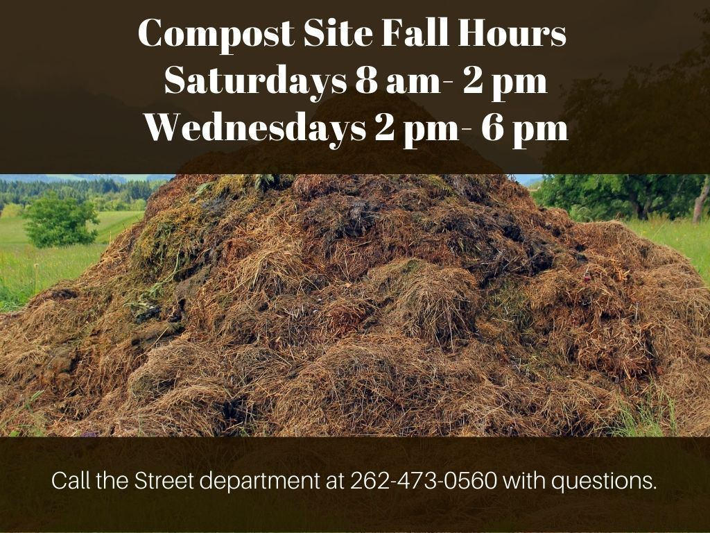 Compost site Hours 2020