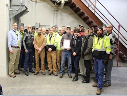 City of Whitewater Wastewater Department Celebrating Terry Malone