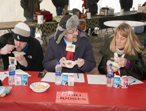 Judging a Chili Cook-off Contest