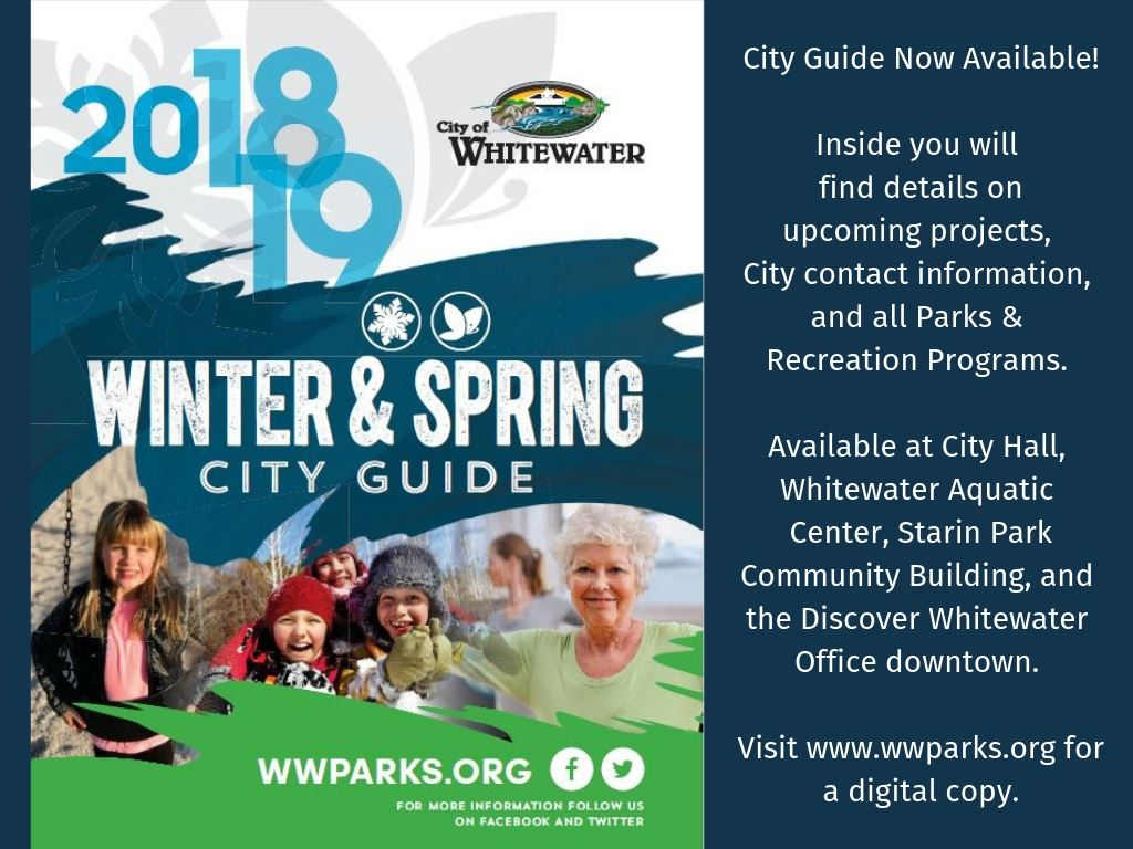 Spring City Guide 2018-2019