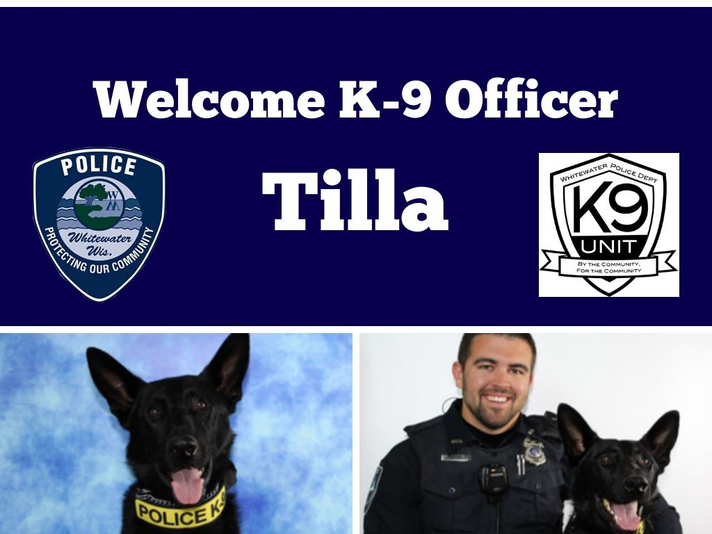 Welcome K-9 Officer